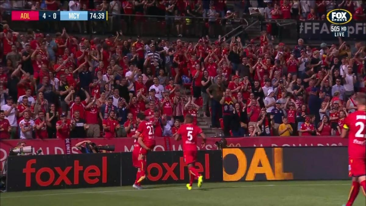 GOAL: McGree - The hosts putting the party on