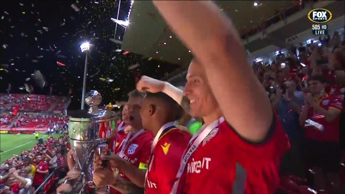 WINNERS:  Adelaide United are the FFA Cup WINNERS 2019