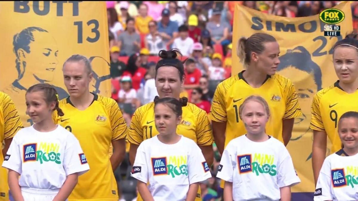 Full-time highlights: Matildas v Chile
