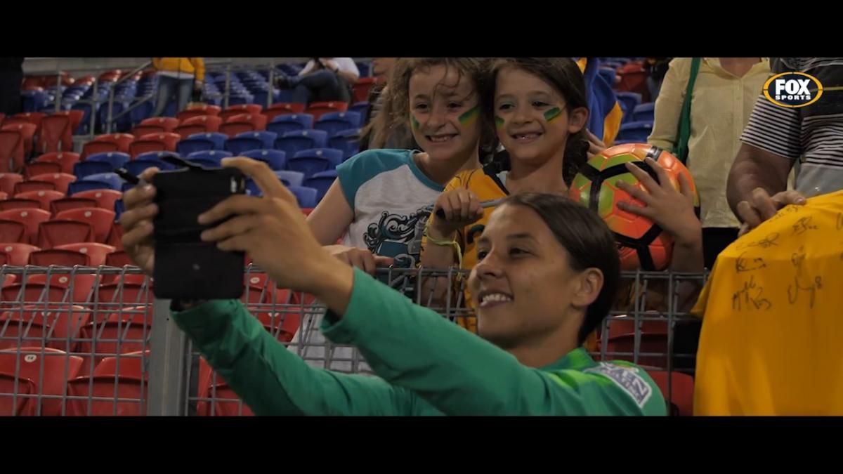 The Matildas triumph in Newcastle
