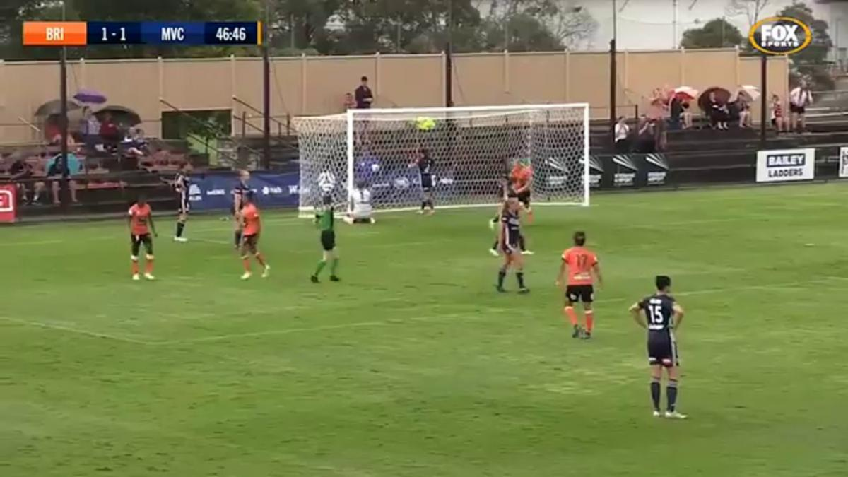 Full-time highlights: Brisbane Roar v Melbourne Victory