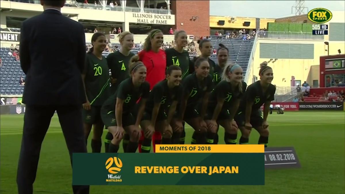Moments of 2018: Revenge over Japan