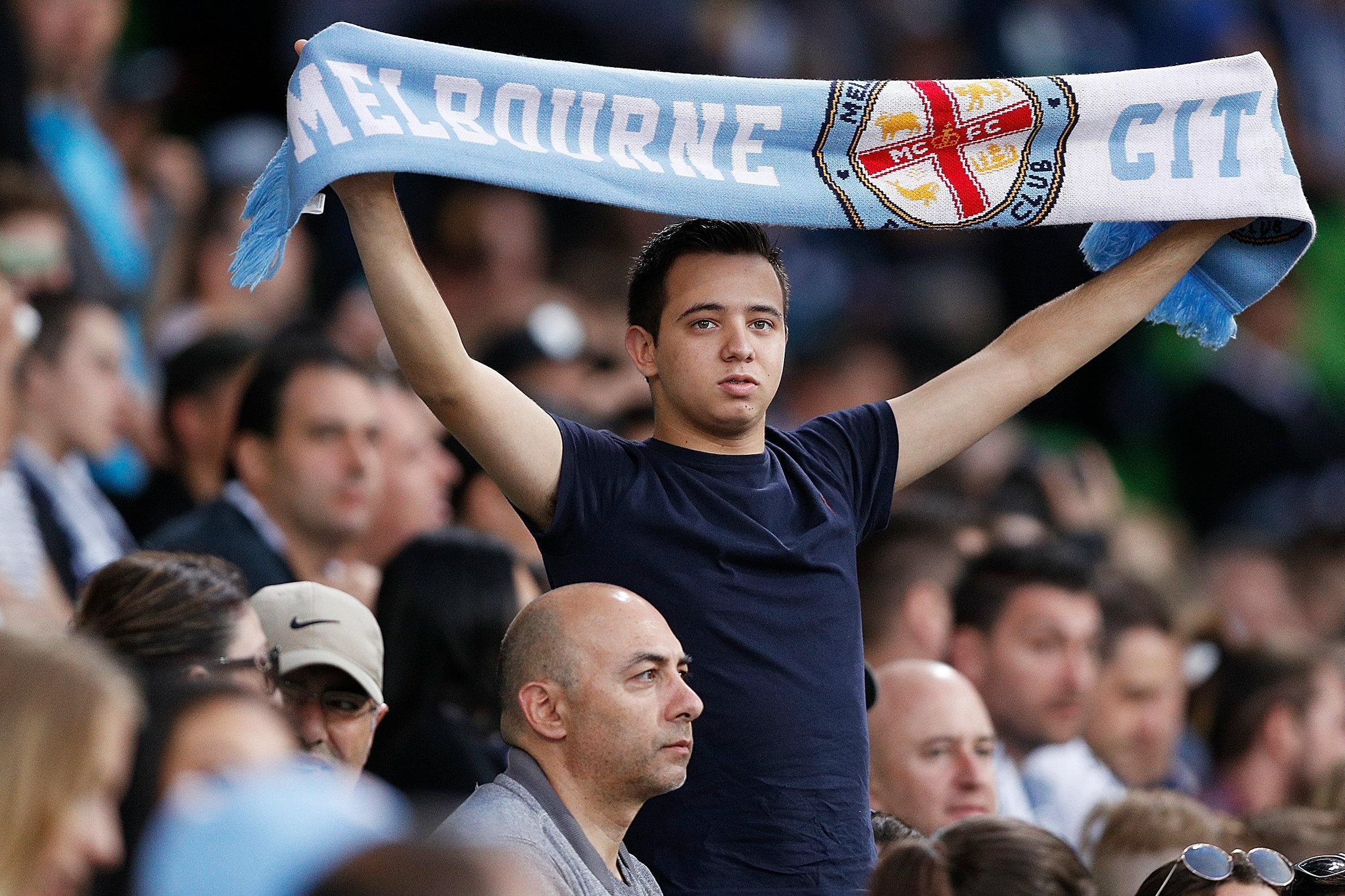 Melbourne City fan