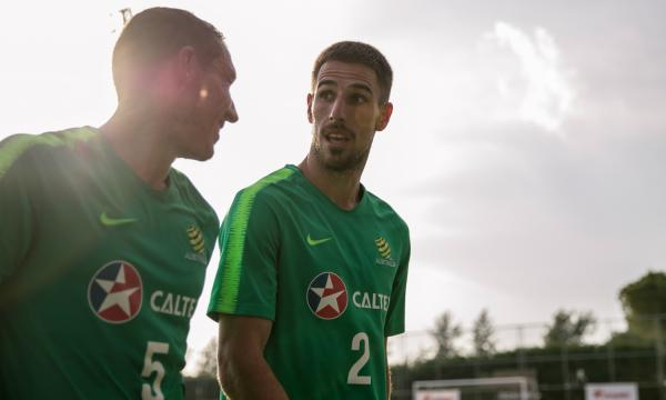 Mark Milligan and Milos Degenek