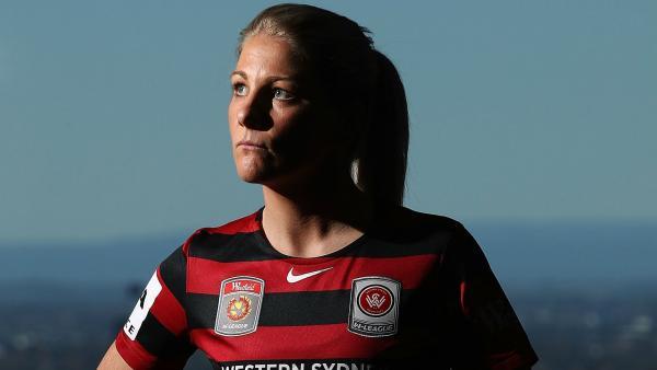 Western Sydney Wanderers captain Caitlin Cooper