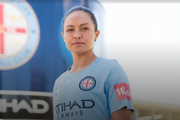 Kyah Simon has joined Melbourne Ciy for the upcoming Westfield W-League season.