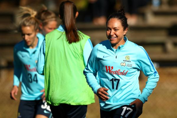 Kyah Simon has signed with Melbourne City for the W-League season.