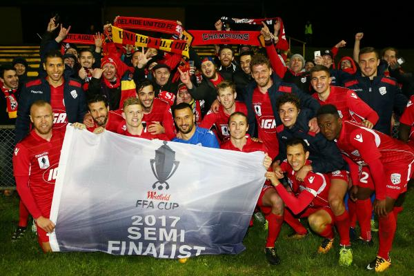 Adelaide United have impressed on the way to the FFA Cup semis.