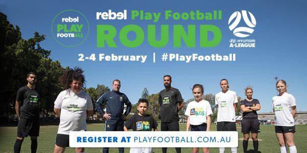 Play football round