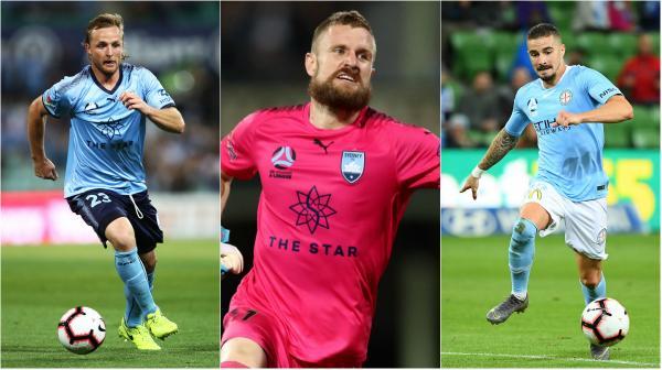 A-League Socceroos: Grant, Redmayne, Maclaren