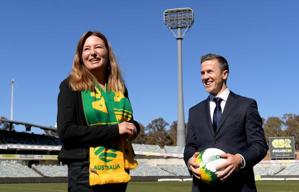"""You want to put on a show for the Canberra public and I'm sure they will."""