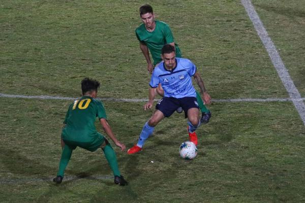 Caceres on the ball