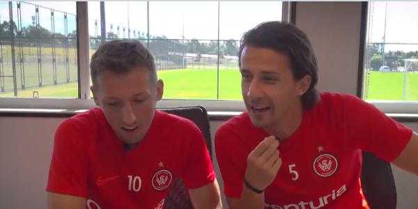 Wanderers duo Radoslaw Majewski and Daniel Georgievski