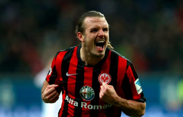 German striker Alexander Meier has signed for the Wanderers