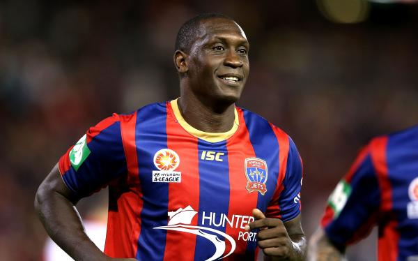 Emile Heskey - a cult hero among Newcastle Jets fans