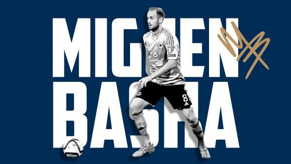Victory secure midfielder Migjen Basha