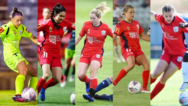 Reds re-sign five players to Westfield W-League squad
