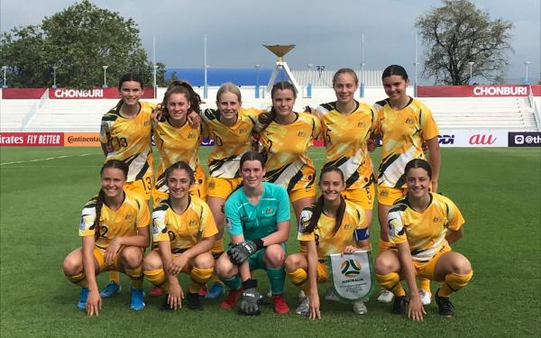 Westfield Junior Matildas off to positive start in Thailand