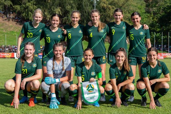 Junior Matildas. Pic courtesy of Joseph Mayers