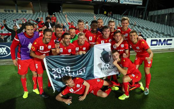 Adelaide United are through to their fourth FFA Cup Final