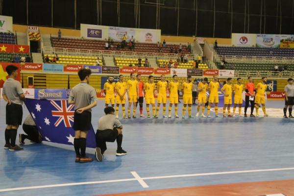 Futsalroos v Malaysia - Pic by Mark Seeto