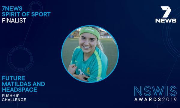 Spirit of Sport Future Matildas