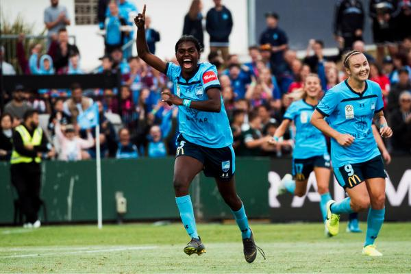 The joy of a first Westfield W-League goal for Shadeene Evans