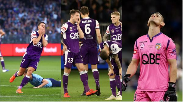 Perth Glory players shattered