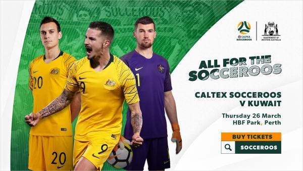 Socceroos Kuwait