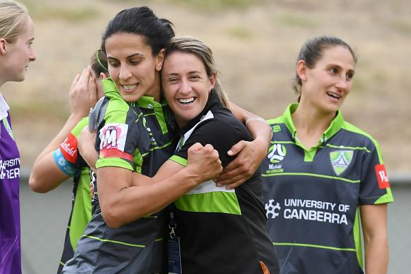 Leena Khamis says her relationship with Heather Garriock was a big reason for her move to Canberra