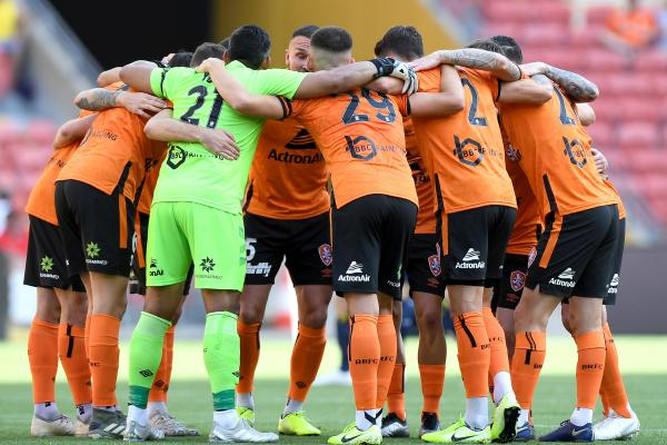 Brisbane Roar huddle