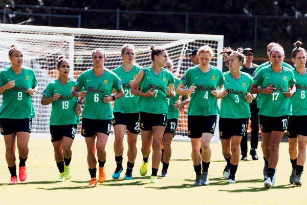 Westfield Matildas training camp in Sydney
