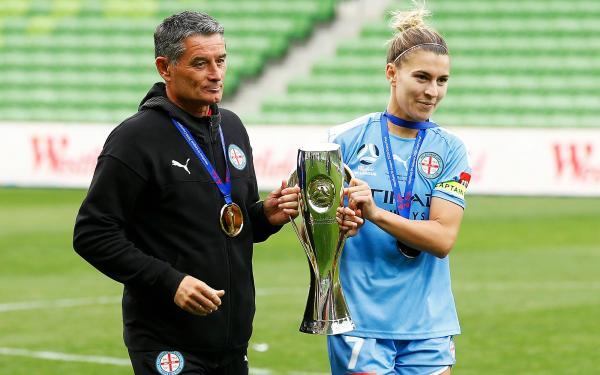 Rado Vidosic and Steph Catley