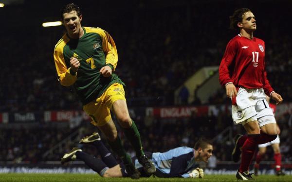 Australia socceroos england 2003 emerton