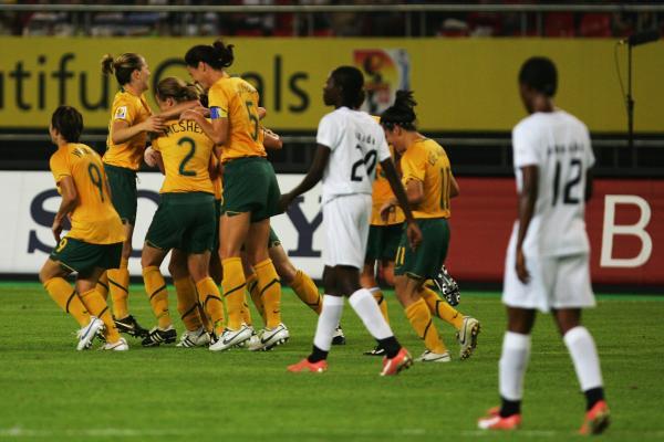 Westfield Matildas v Ghana