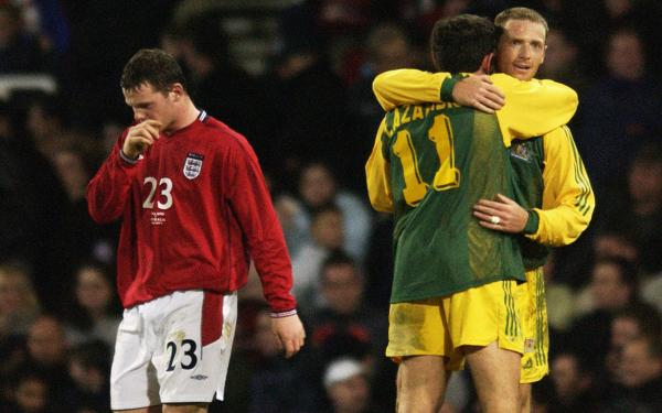 England Australia 2003 Socceroos