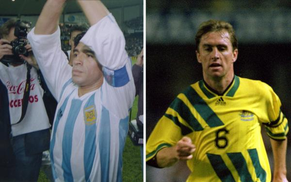 Diego Maradona Paul Wade