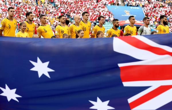 Socceroos line up 2018