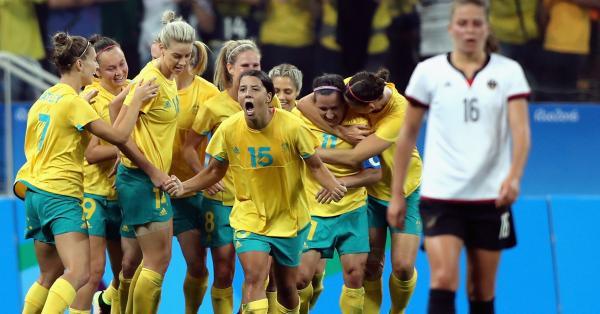 Matildas at the 2016 Olympics