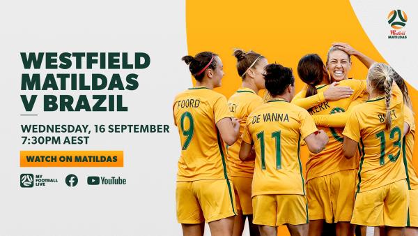 Matildas v Brazil 2017 full match replay