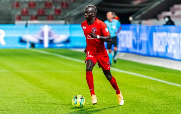 Awer Mabil played a key role in Midtjylland's Champions League qualification