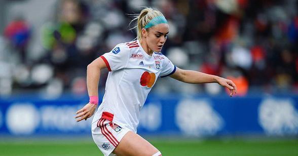 Ellie Carpenter in action for OL