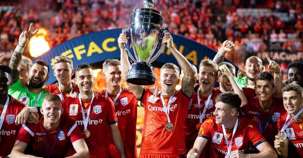 FFA Cup 2019 trophy Adelaide United