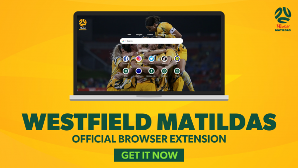 Download the official Westfield Matildas browser extension