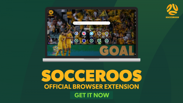 Download the official Socceroos browser extension