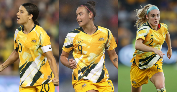 Kerr, Foord and Carpenter up for AFC Best Women's Player award