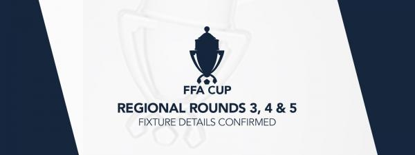 Next round of regional FFA Cup fixture details confirmed