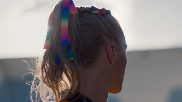 Tameka Yallop Rainbow Ribbons of Strength Pantene campaign