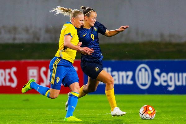Australia v Sweden - Algarve Cup