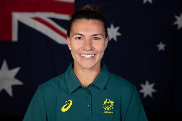Steph Catley 2020 Olympic portrait